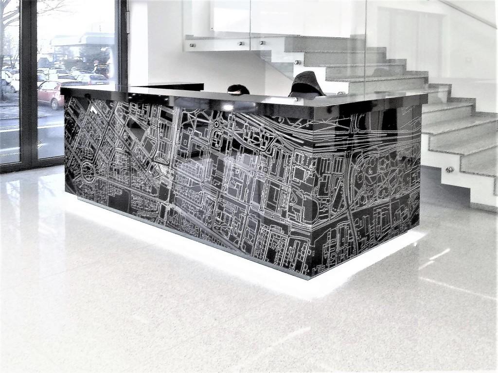 rea architekci sabina rehlich projekt biurowca biur office wnetrza lada warszawa krakow wroclaw katowice